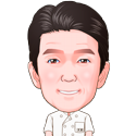 いとう耳鼻咽喉科院長の似顔絵